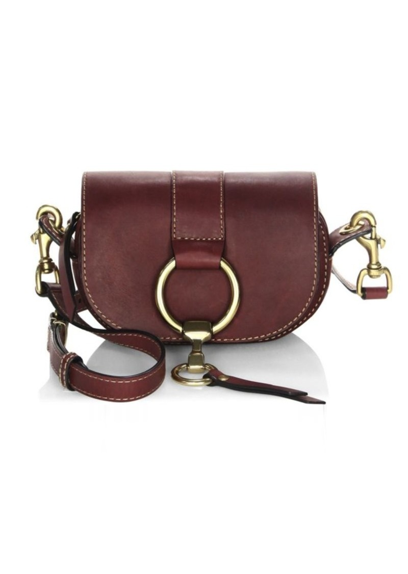 2395431028 Frye Ilana Harness Leather Mini Saddle Bag