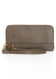 Frye Ilana Harness Phone Leather Zip Wallet