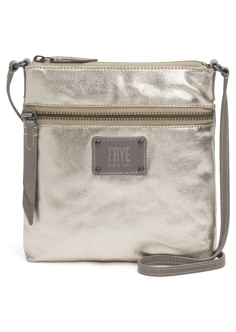 568e4621c3 Frye Frye Ivy Metallic Nylon Crossbody Bag Now  104.99