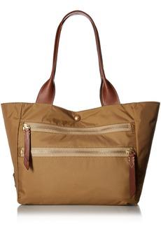 FRYE Ivy Nylon Tote Handbag tan