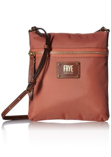 FRYE Ivy Zip Crossbody Nylon Handbag dusty rose