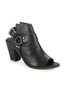 Frye Izzy Harness Slingback Leather Booties