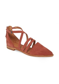 Frye Kenzie Pointy Toe Flat (Women)