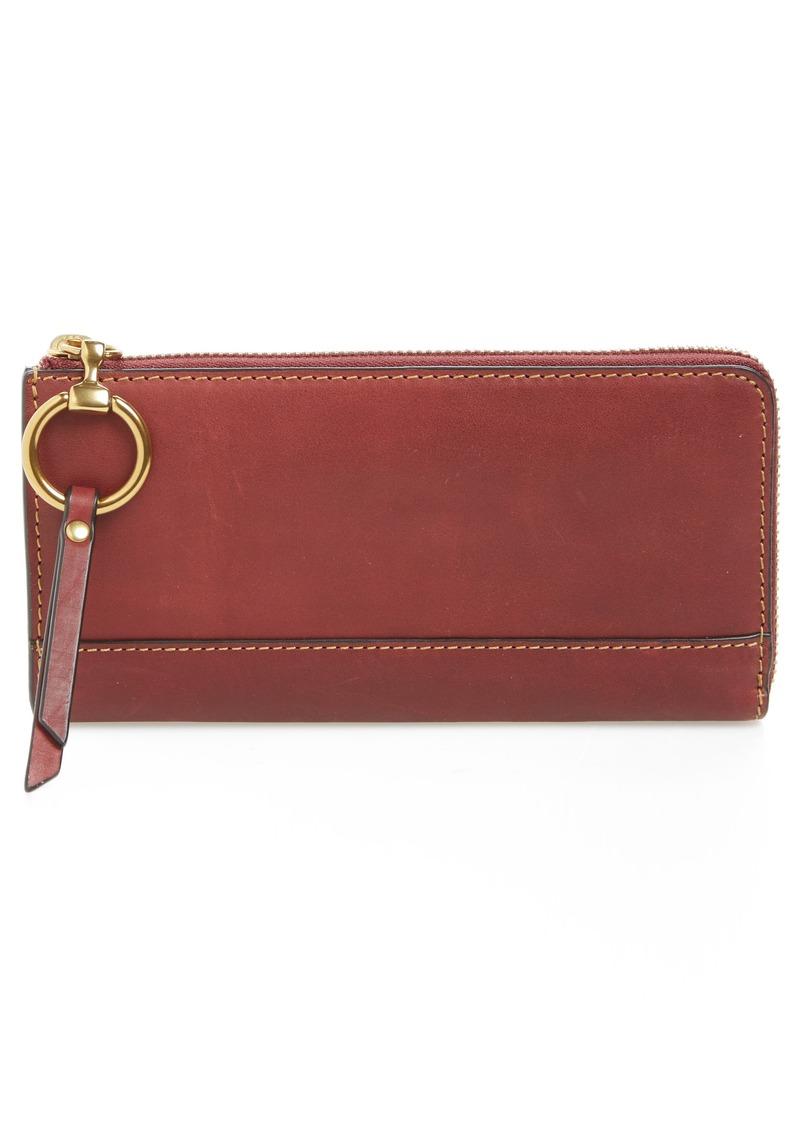 Frye Frye Large Ilana Harness Leather Zip Wallet