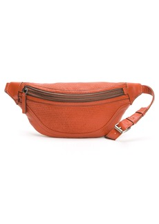 Frye Lena Perforated Leather Belt Bag