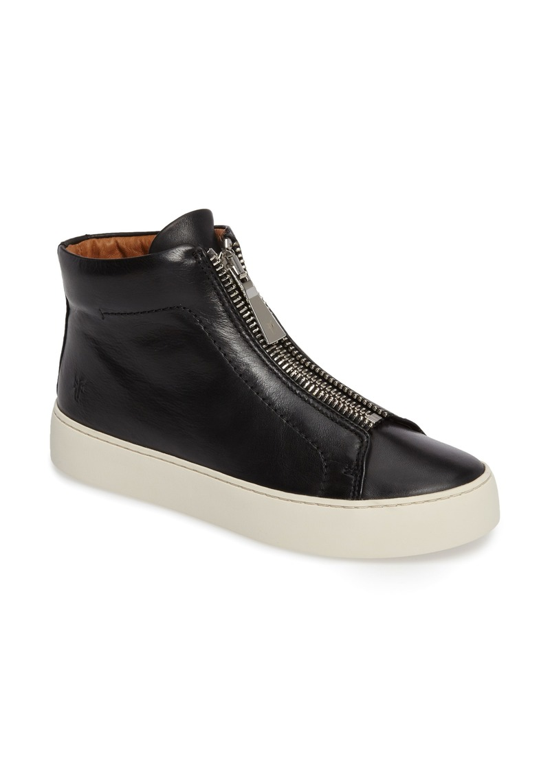 Frye Lena Zip High Top Sneaker (Women)