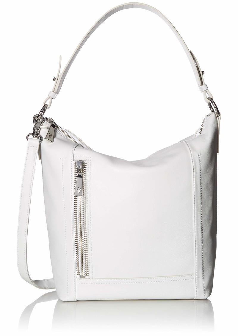 FRYE Lena Zip Leather Hobo Shoulder Bag