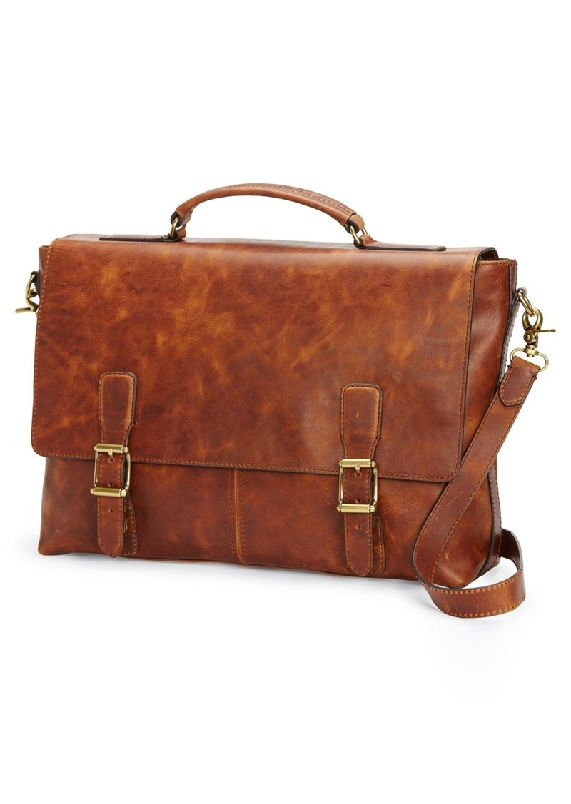 Frye Logan Leather Briefcase