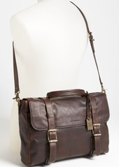Frye 'Logan' Leather Flap Briefcase