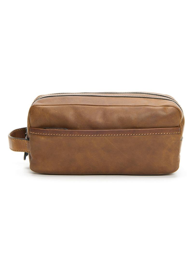 Frye 'Logan' Leather Travel Kit