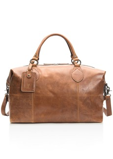 Frye Logan Overnight Leather Duffel