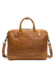 Frye Logan Slim Leather Briefcase