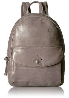 FRYE Melissa Leather Backpack ice