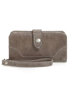 Frye 'Melissa' Leather Phone Wallet