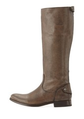 Frye Melissa Leather Zip-Back Riding Boot