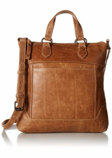 FRYE Melissa Small Tote Crossbody Leather Bag beige
