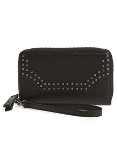 Frye Melissa Studded Leather Phone Wallet