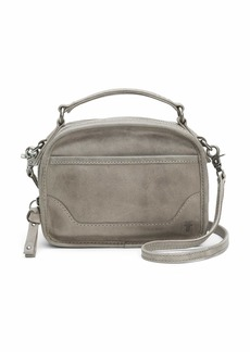 FRYE Melissa Top Handle Leather Crossbody Bag ice