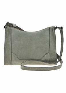 FRYE Melissa Zip Leather Crossbody Bag fern