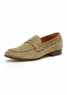 Frye Men's Aiden Suede Penny Loafer  Gray