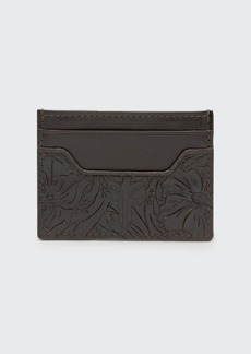 Frye Men's Austin Embossed Card Case