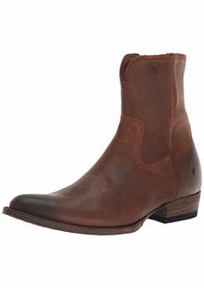 FRYE Men's Austin Inside Zip Western Boot  11.5M M US