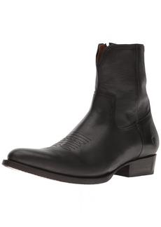 FRYE Men's Austin Inside Zip Western Boot 87614-Black 11 D US