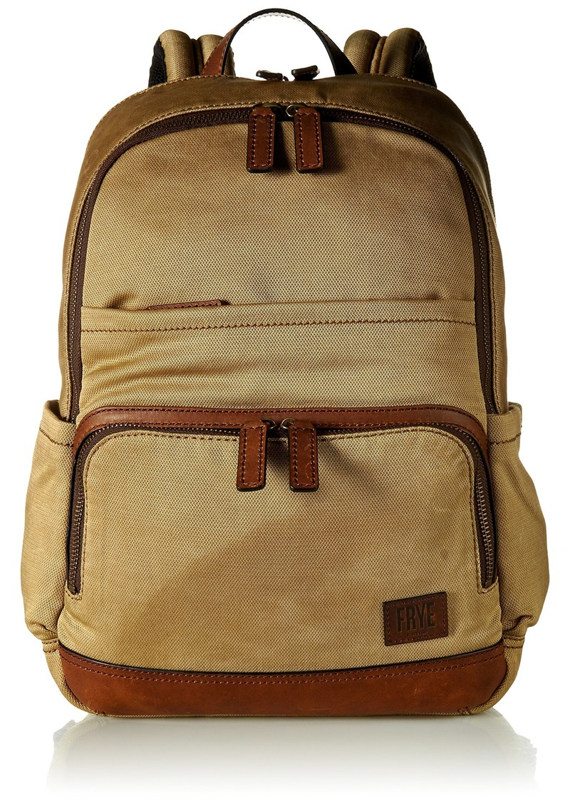 FRYE Men's Carter Backpack tan