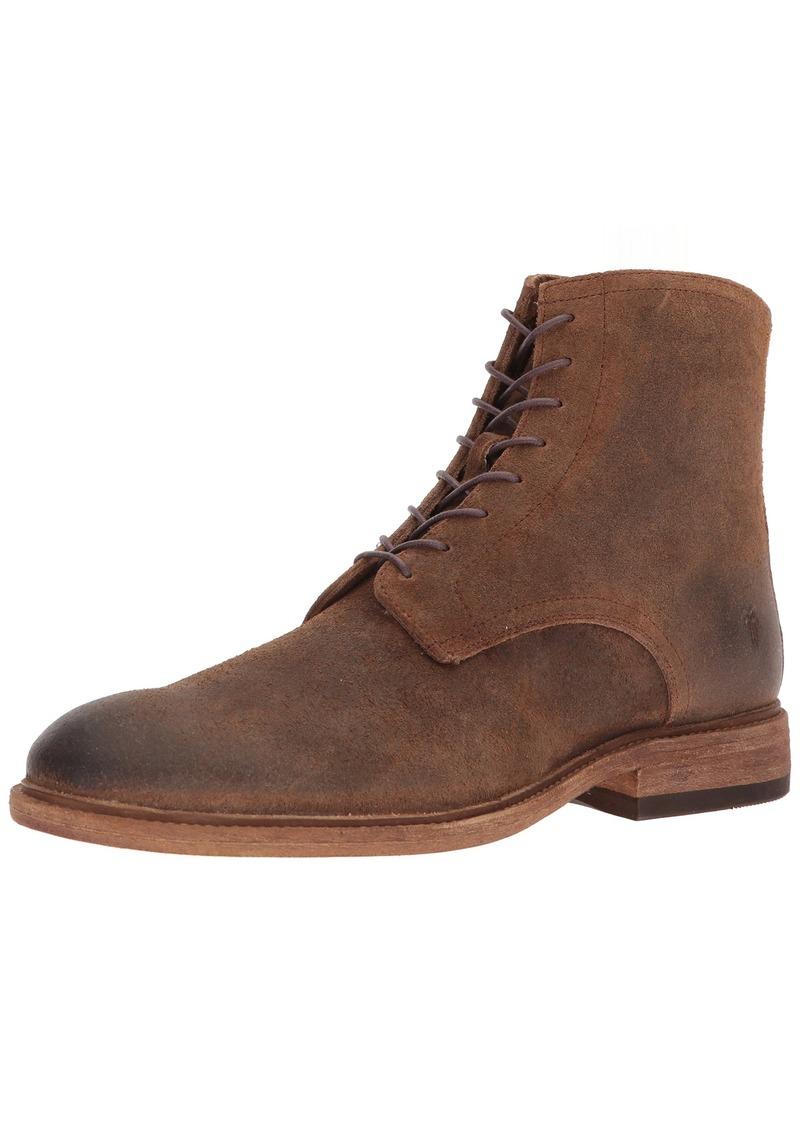 FRYE Men's Chris LACE UP Fashion Boot TAN 12 M