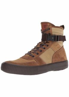 FRYE Men's Combat LACE UP Sneaker tan Multi 11.5M M US