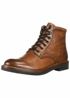FRYE Men's Gordon LACE UP Combat Boot cognac  M M US