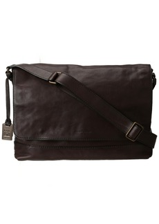 FRYE Men's James Tumbled Full Grain Messenger Bag