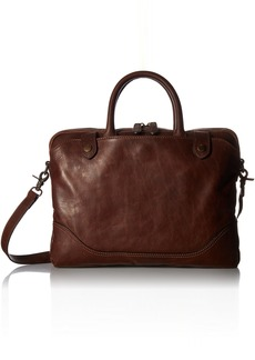 FRYE Men's Logan Slim Zip Briefcase  ONE Size