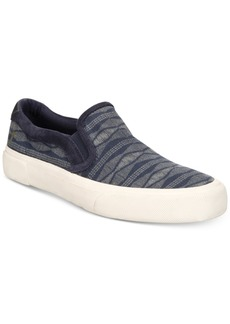 Frye Men's Ludlow Canvas Printed Slip-On Sneakers Men's Shoes