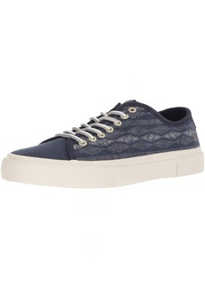 FRYE Men's Ludlow Low Canvas Print Sneaker  8 Medium US
