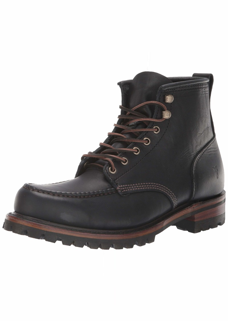 FRYE Men's Penn Lug MOC Workboot Fashion Boot   M Medium US