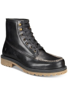 Frye Men's Pine Lug Leather Work Boots, Created for Macy's Men's Shoes