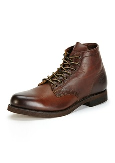 Frye Men's Prison Leather Boot with Lugged-Sole