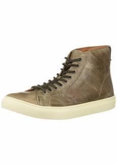 FRYE Men's Walker MIDLACE Sneaker stone  M Medium US
