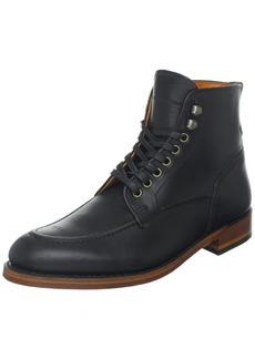FRYE Men's Walter Lace-Up Boot Black