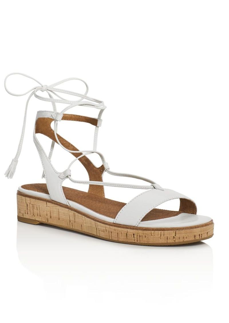 0279442ed34 Frye Frye Miranda Leather Gladiator Wedge Sandals