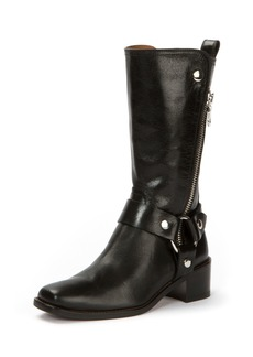 Frye Modern Harness Tall Zip Boot