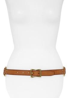 Frye Multi Strap Leather Belt
