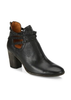 Frye Naomi Pickstitch Leather Booties