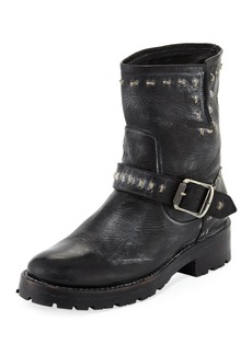 Frye Natalie Lugged Rebel Moto Boot