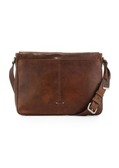4f4fc325d171 Frye Oliver Men's Leather Messenger Bag Dark Brown | Bags