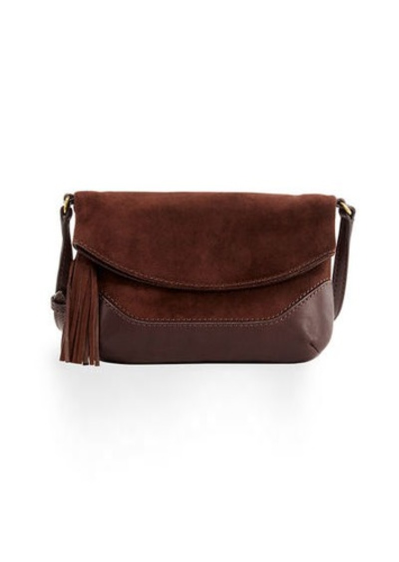 Frye Paige Small Suede Crossbody Bag