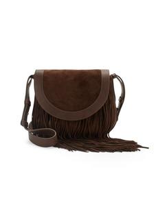 Frye Ray Fringe Saddle Handbag