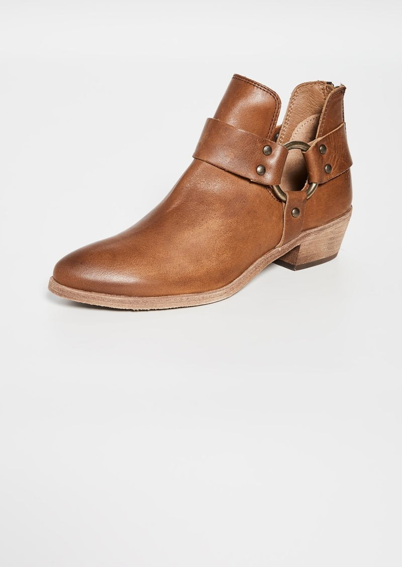 Frye Ray Harness Back Zip Booties
