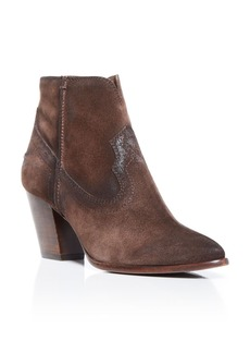 Frye Renee Seam Western Booties
